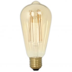 Calex Gold E27 Dimmable Vintage Filament LED Lamp