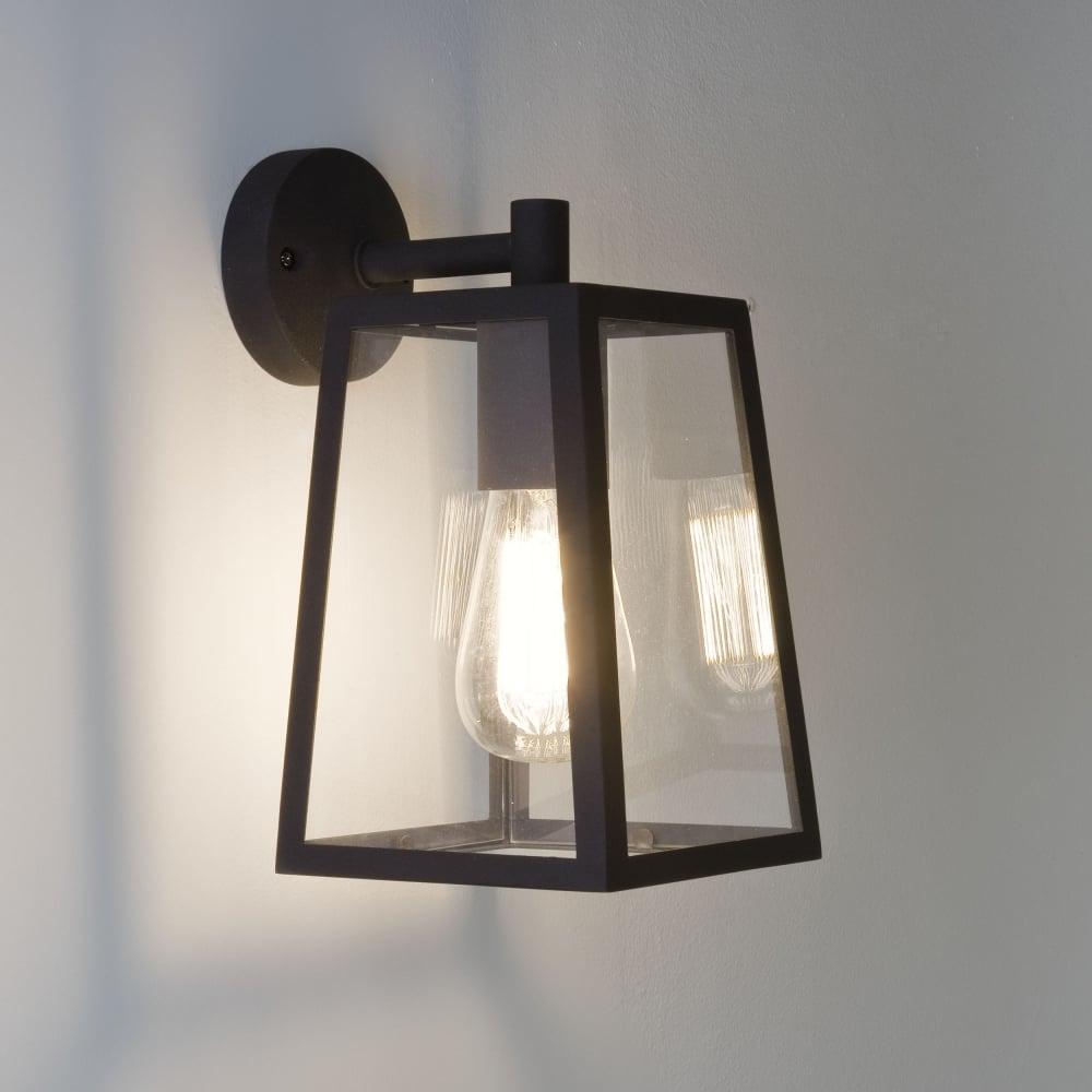 Astro lighting 7105 calvi black lantern exterior wall light calvi wall 215 lantern exterior wall light in black aloadofball Gallery