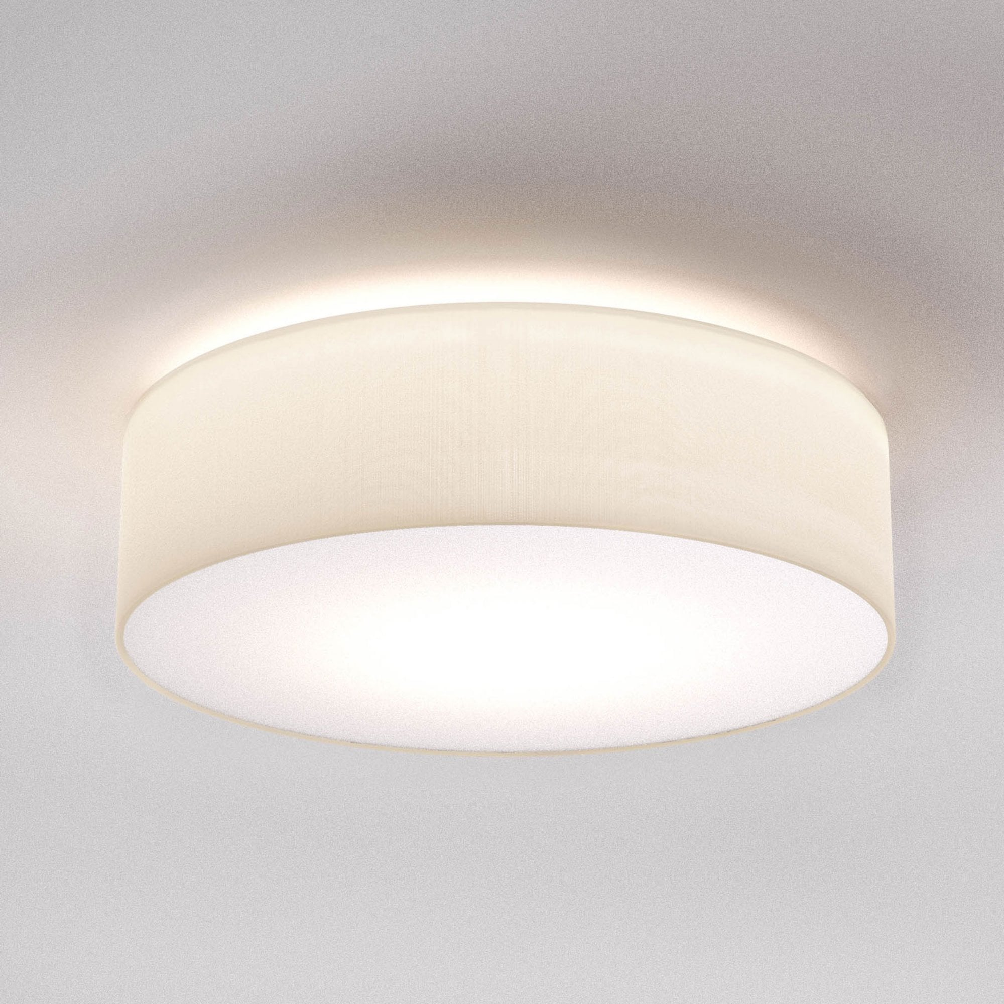 Astro Lighting 1421004 Cambria 480 White Fabric Ceiling Light