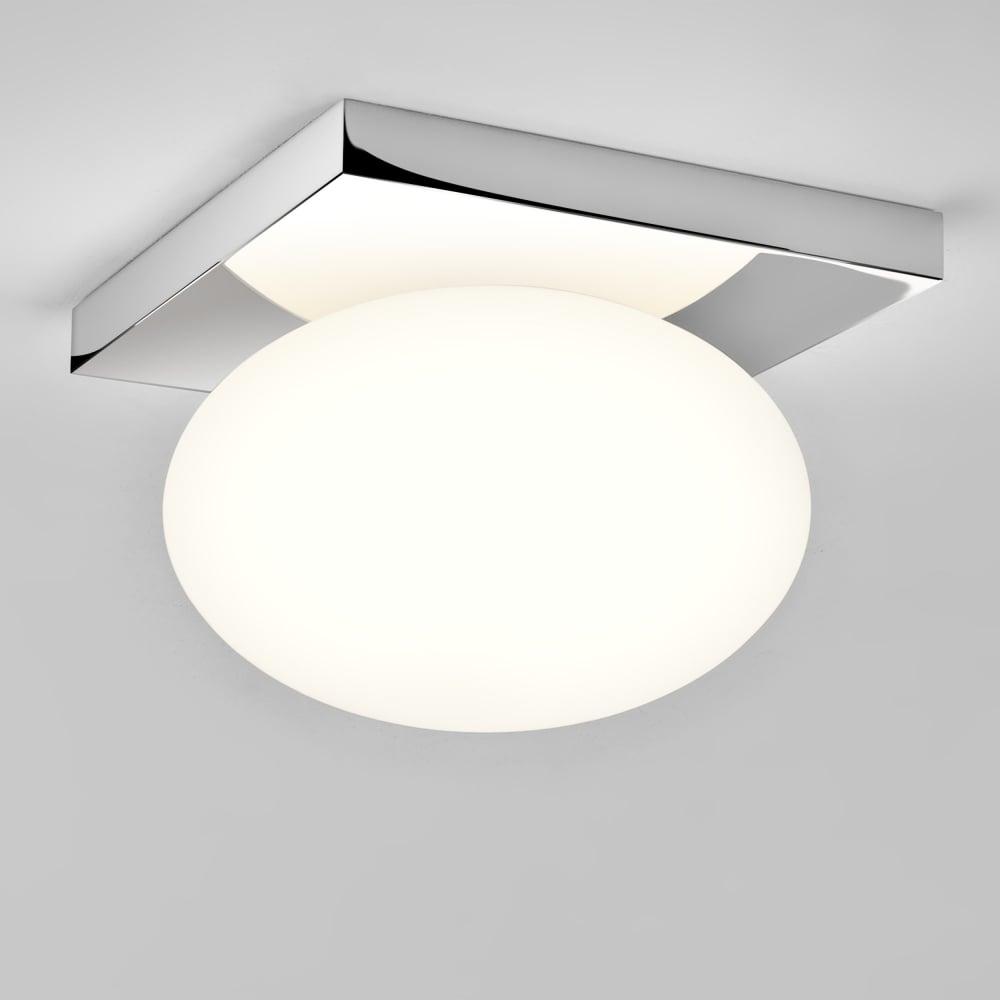Superior Castiro 225 IP44 Opal Glass Bathroom Ceiling Light