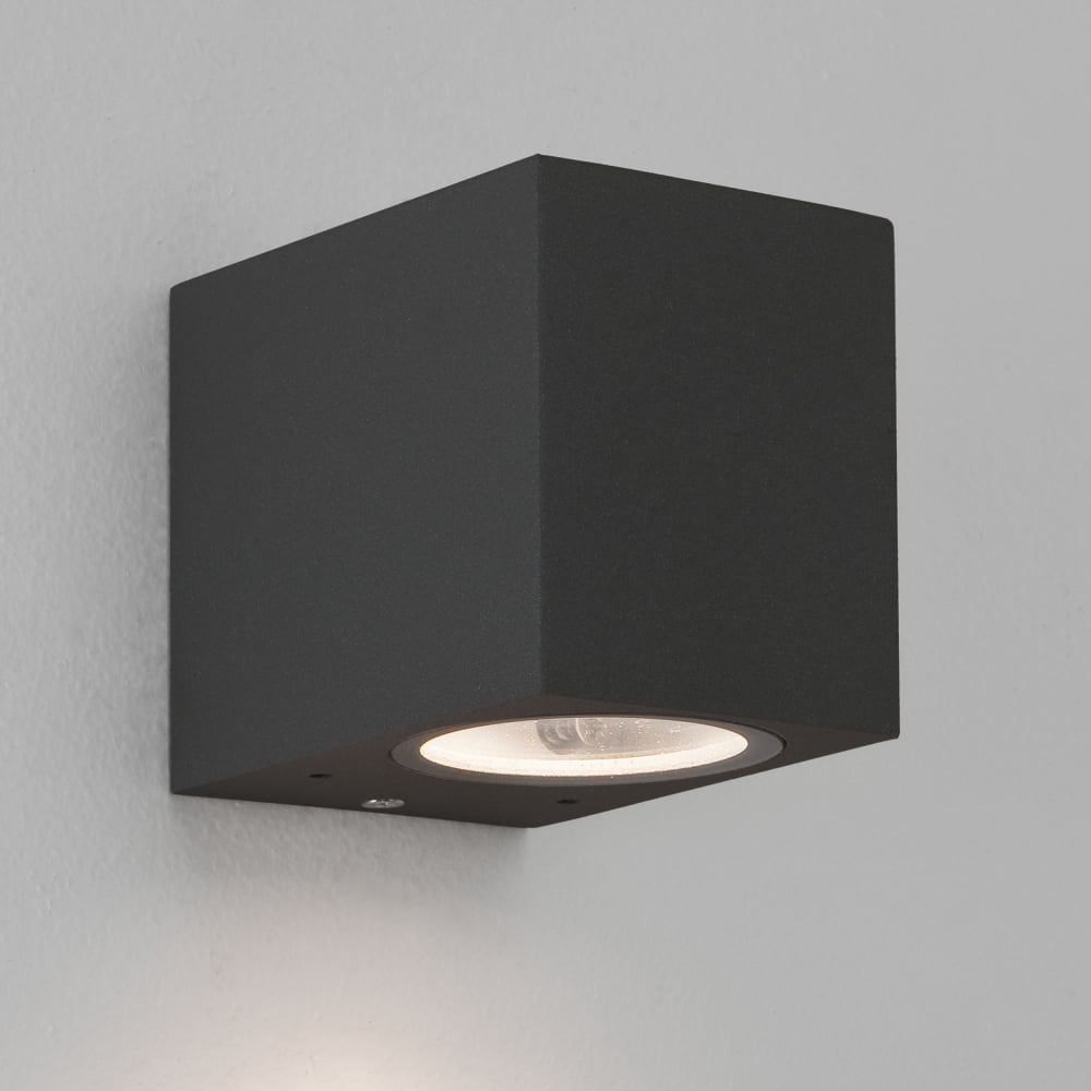 Astro Lighting 7126 Chios 80 Exterior Ip44 Wall Light In Black