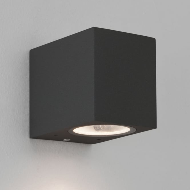 Astro Chios 80 Exterior IP44 Wall Light in Black