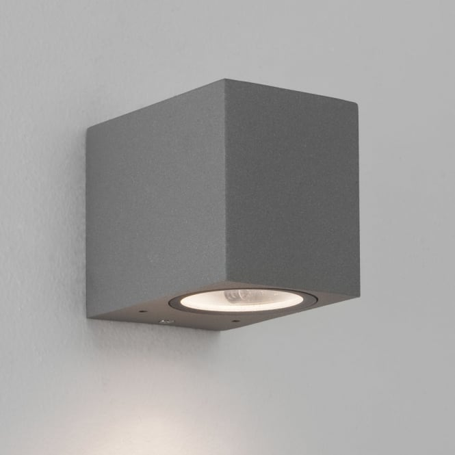 Astro Chios 80 Exterior IP44 Wall Light in Silver