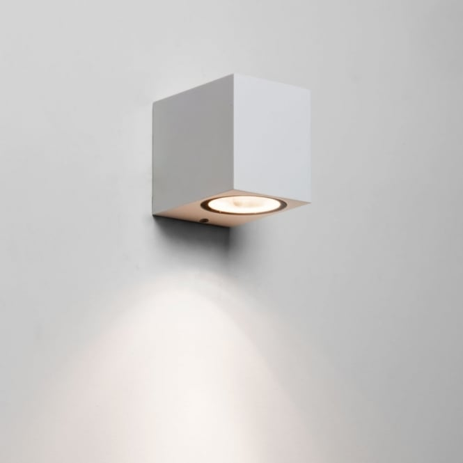 Astro Chios 80 White IP44 Exterior Wall Light