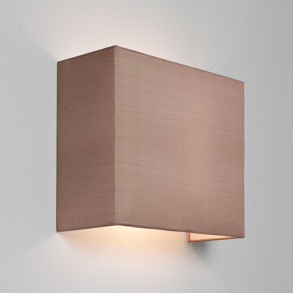 Astro Lighting 4128 Chuo 250 Oyster Fabric Wall Shade