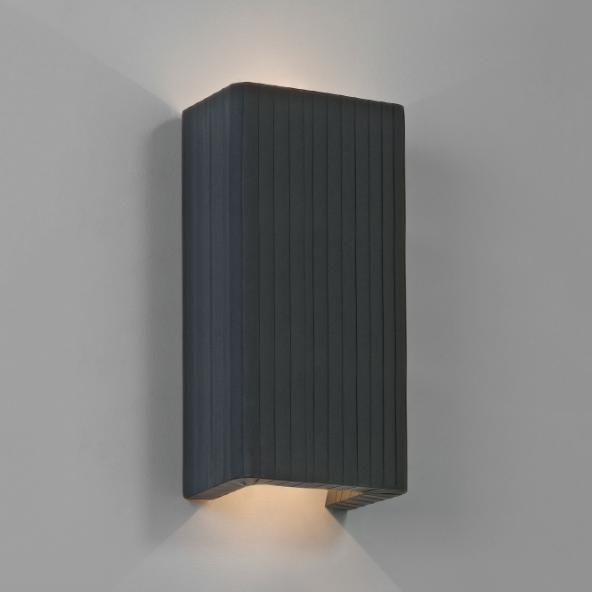 Astro Clearance Peruga 380 Black Shade Wall Light