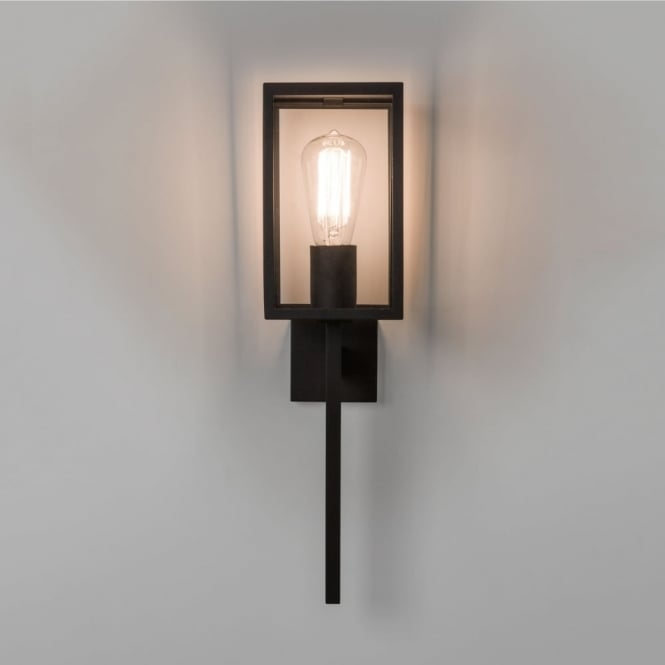 Astro Coach 130 Exterior Wall Light in Black