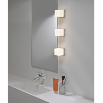 Cube IP44 Bathroom Wall and Mirror Light
