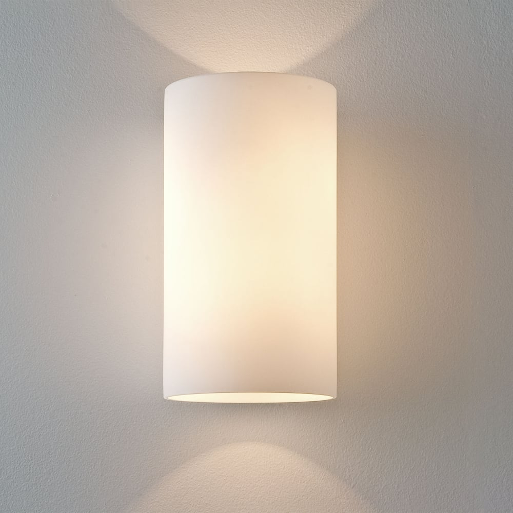 Astro lighting 0883 cyl 200 white glass wall light cyl 260 white glass wall light aloadofball Choice Image