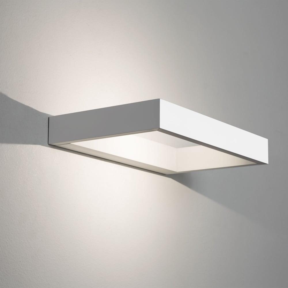 astro lighting 0955 d light white led wall light. Black Bedroom Furniture Sets. Home Design Ideas