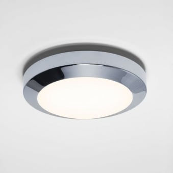 Dakota 180 Polished Chrome Bathroom Ceiling and Wall Light