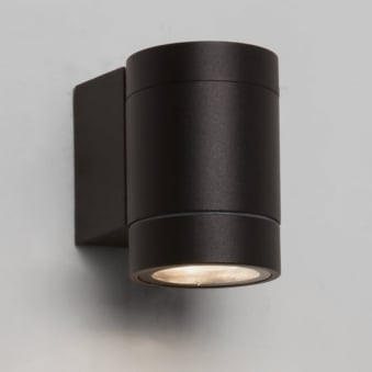 Dartmouth Single LED IP54 Exterior Wall Light in Black