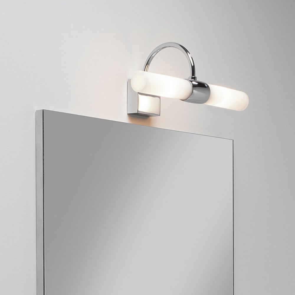 Delicieux Dayton IP44 Bathroom Mirror Light Finished In Polished Chrome