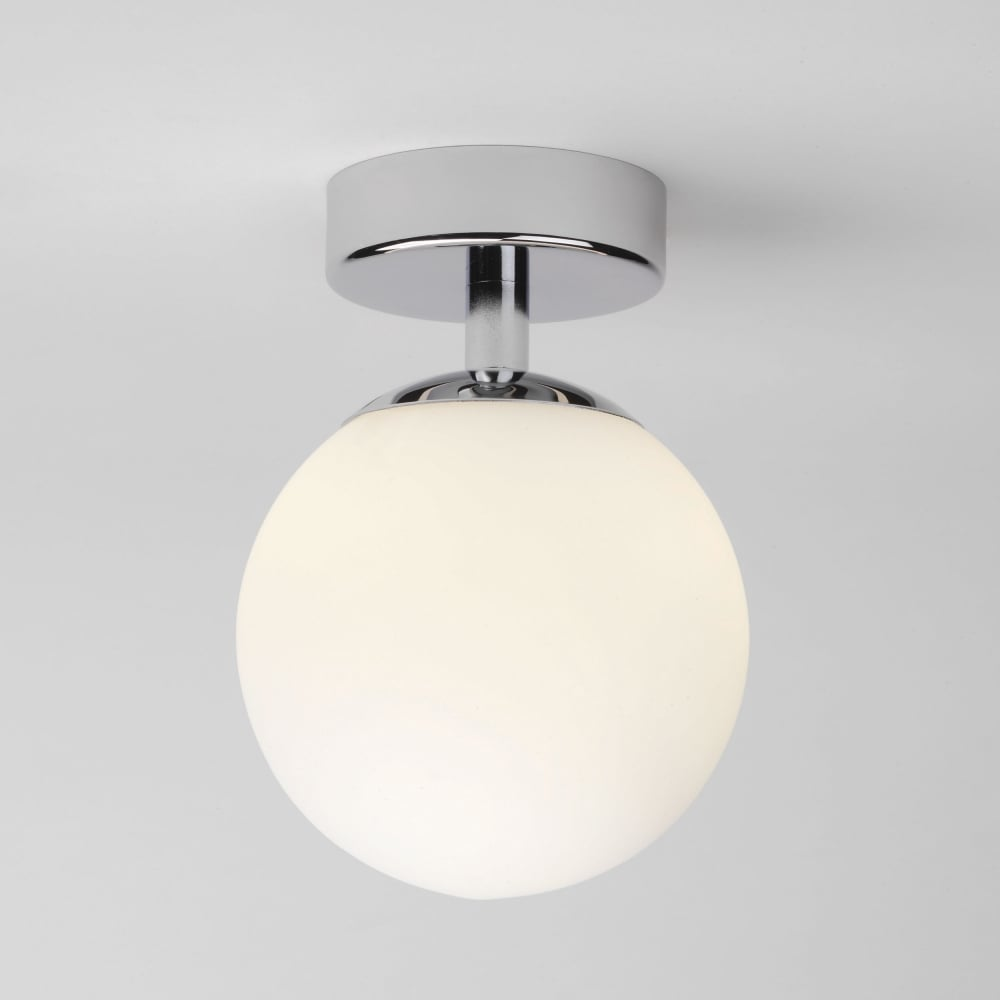 Denver IP44 Bathroom Ceiling Light & Astro Lighting 0323 Denver IP44 Bathroom Ceiling Light in Chrome