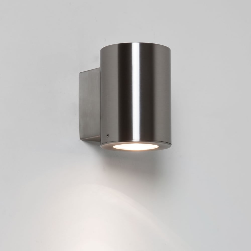 Astro 7571 detroit ip44 exterior wall light brushed stainless steel detroit single ip44 exterior wall light in brushed stainless steel aloadofball Image collections