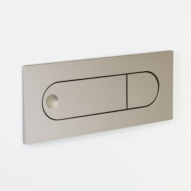 Astro Digit Switched LED Wall Light in Matt Nickel