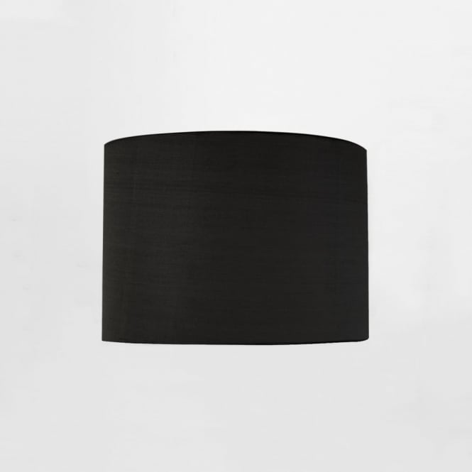 Astro Drum 200 Fabric Shade in Black for the Ravello LED Reader
