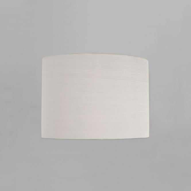 Astro Drum 200 Fabric White Shade for Ravello Wall Light
