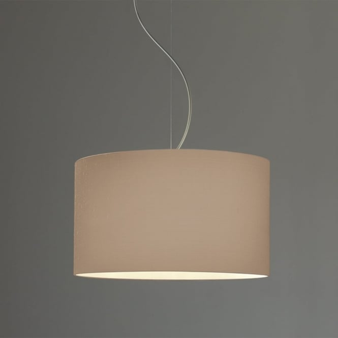 Astro Drum 420 Fabric Pendant Shade in Oyster