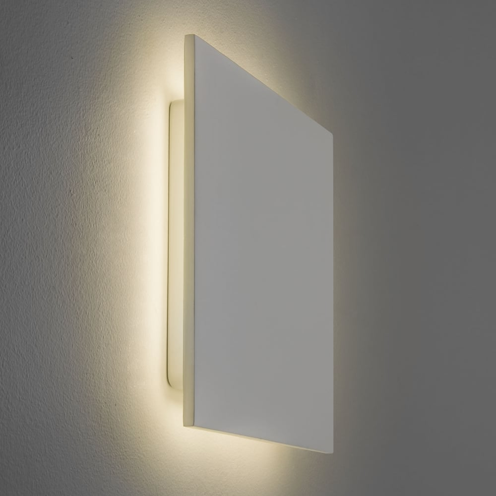 All Square Wall Lights : Astro Lighting 7610 Eclipse Square 300 LED 2700K Wall Light