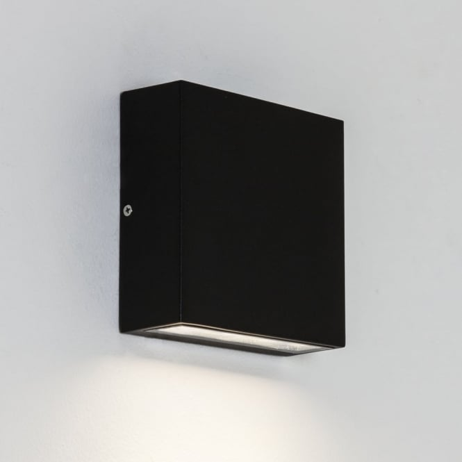 Astro Elis LED Single IP54 Exterior Wall Light in Black