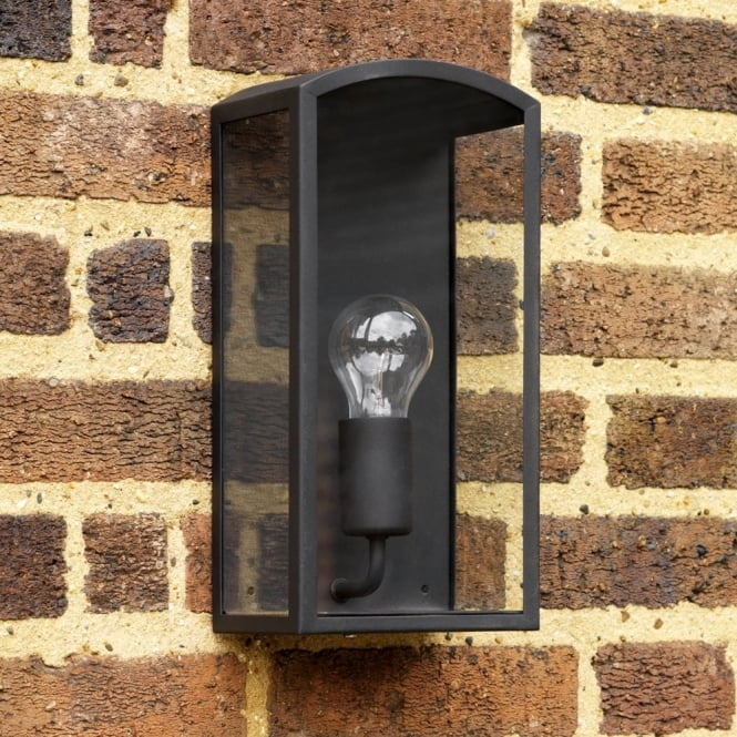 Astro Emilia Exterior IP44 Black Wall Light