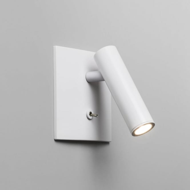 Astro Enna Square LED Switched Reading Light in White