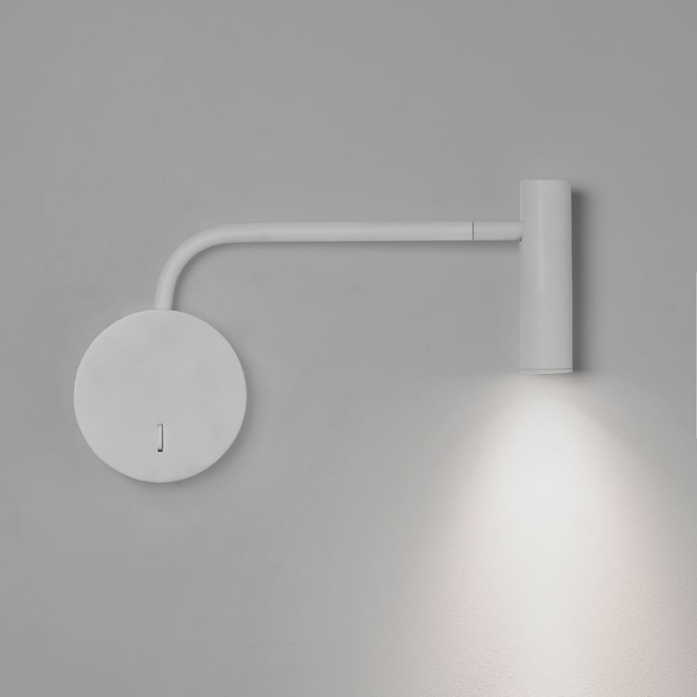 Astro lighting 7588 enna wall led white reading wall light enna wall led white reading wall light aloadofball Image collections