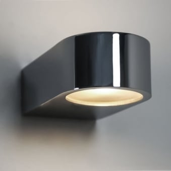 Epsilon IP44 Bathroom Wall Light in Polished Chrome