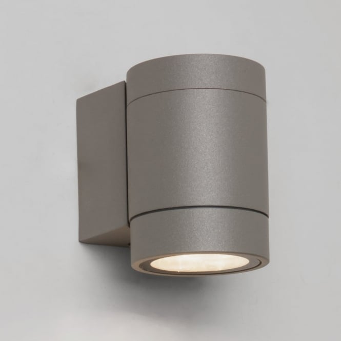 Astro Clearance **EX-DISPLAY** Dartmouth Single LED Exterior Wall Light in Silver