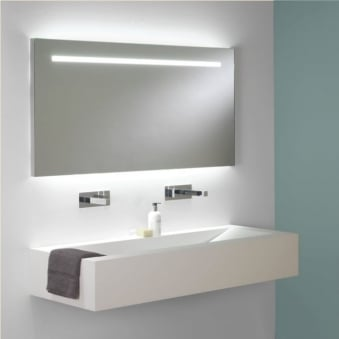Flair 1250 Illuminated Switched IP44 Wall Mirror