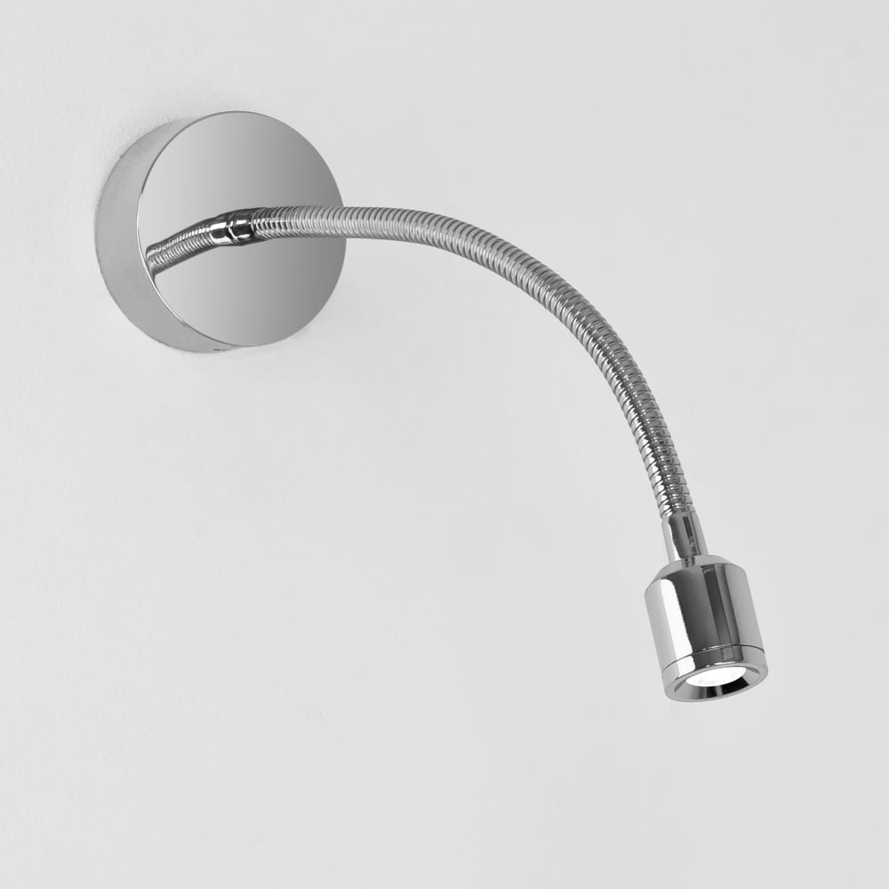 Adjustable Wall Reading Lights : Astro Lighting 0630 Fosso LED Adjustable Reading Wall Light in Chrome