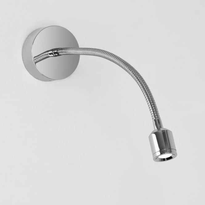 Astro Fosso LED Adjustable Reading Wall Light in Chrome