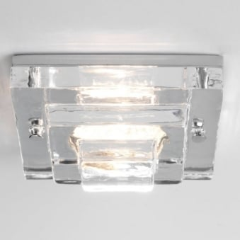 Frascati 230v Square IP65 Bathroom Downlight