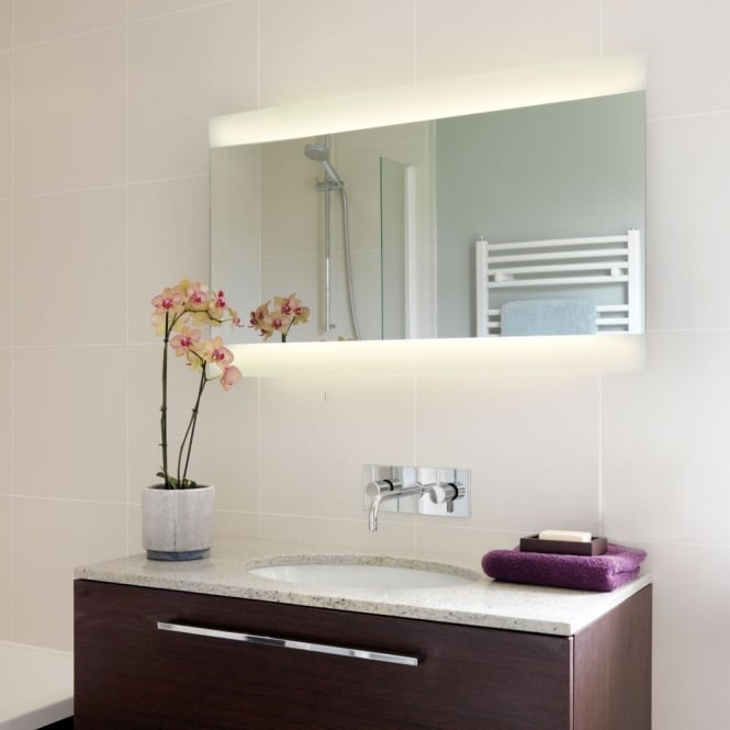 Astro Fuji Wide 1250 Illuminated IP44 Bathroom Mirror