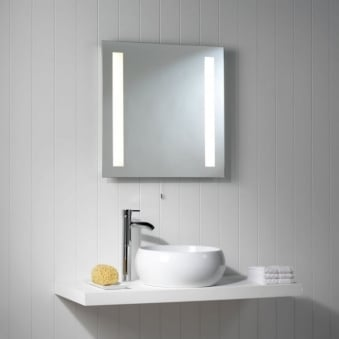 Galaxy Square Illuminated Mirror