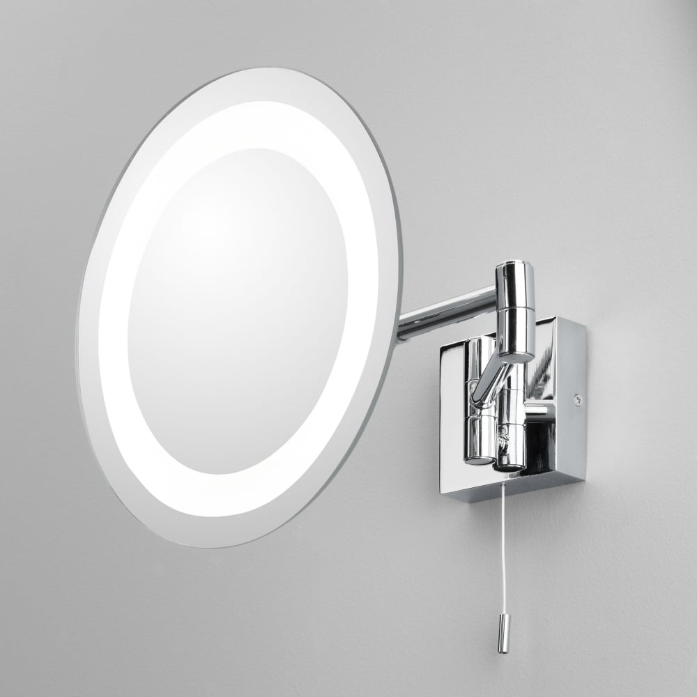 Genova Illuminated Bathroom IP44 Magnifying Mirror