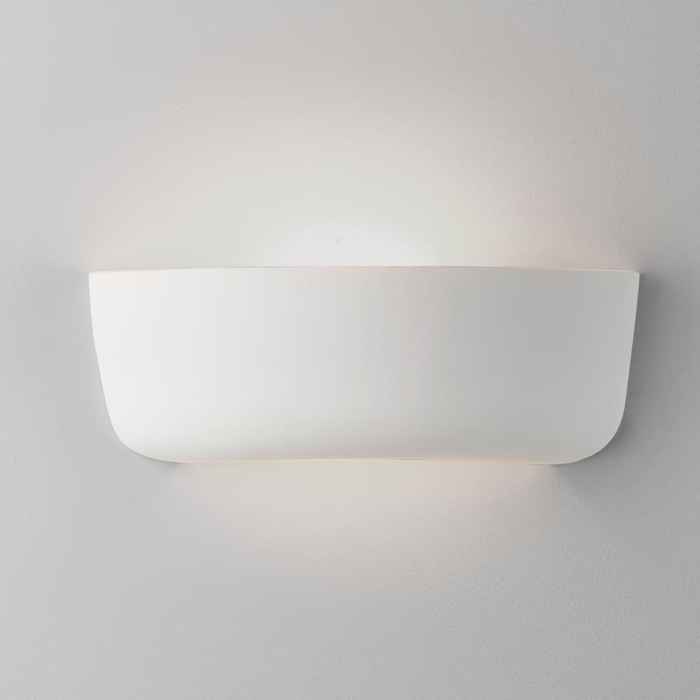 b89d1246a7f4 Astro Lighting 7931 Gosford 340 Ceramic Wall Light in White