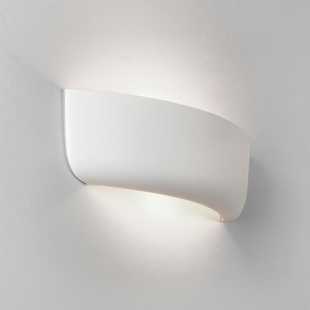 Astro Ceramic Wall Lights : Astro Lighting 7967 Gosford 460 Ceramic Wall Light in White