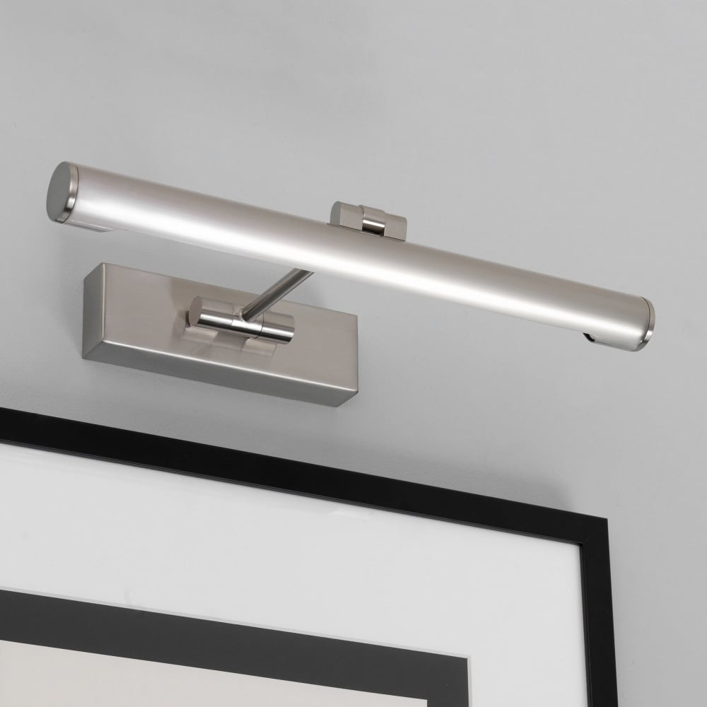 Wall Lights Nickel : Astro Lighting 0528 Goya 365 Brushed Nickel Picture Wall Light