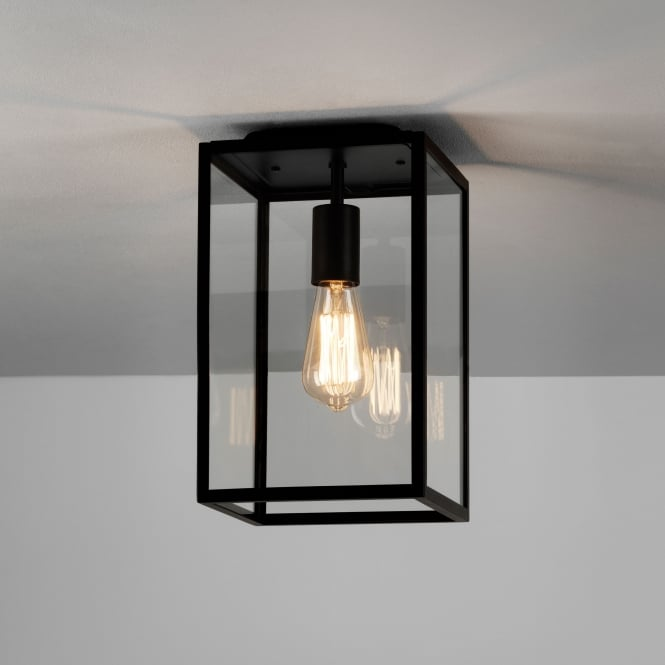 Astro Homefield Ceiling Light in Black