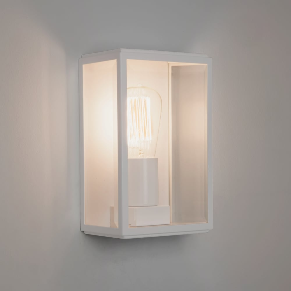 Exterior Wall Lights White : Astro Homefield Exterior White Wall Light