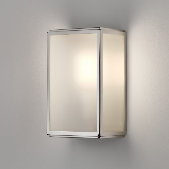 Astro Homefield Sensor PIR Wall Light in Polished Nickel