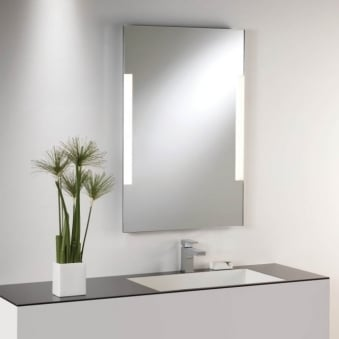 Imola 800 Illuminated Mirror with Polished Chrome Frame