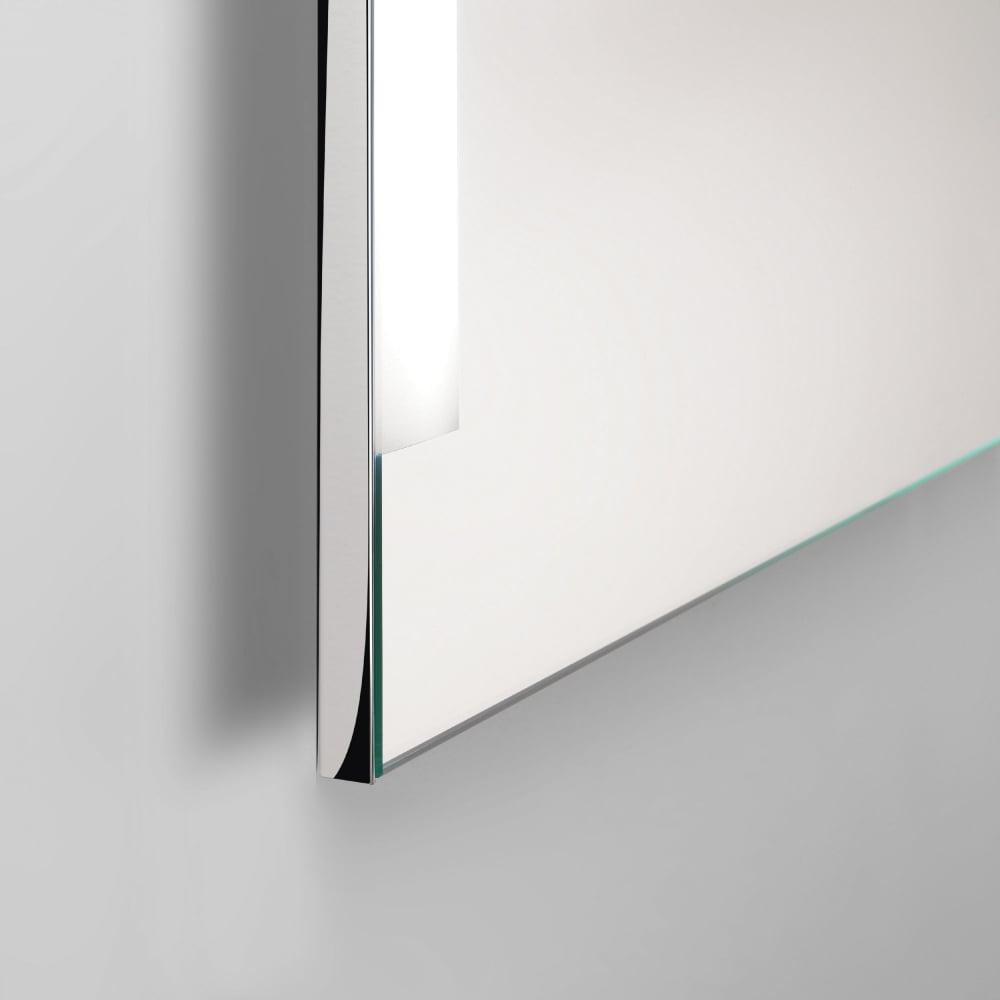 Chrome Wall Mirror astro lighting 0782 imola 900 illuminated wall mirror