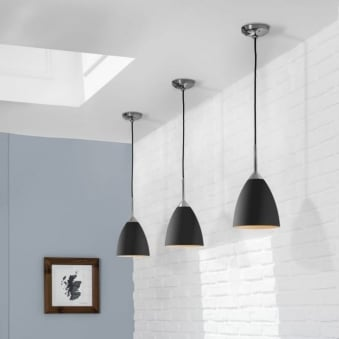 Joel 170 Pendant Light in Black
