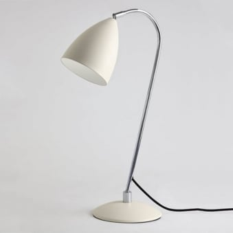Joel Adjustable Switched Table Lamp in Cream