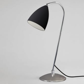 Joel Adjustable Switched Table Light in Black