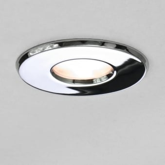 Kamo 230v IP65 Bathroom Downlight in Chrome