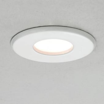Kamo 230v IP65 Ceiling Bathroom Downlight in White